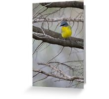 Yellow and Proud Greeting Card