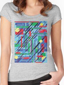 Blue Factory Women's Fitted Scoop T-Shirt