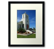 Everglades Community Church Framed Print
