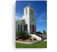 Everglades Community Church Canvas Print
