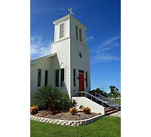 Everglades Community Church Photographic Print