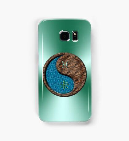 Pisces & Goat Yin Earth Samsung Galaxy Case/Skin