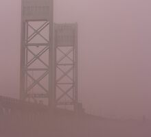 Middle Bridge in the Fog by chazz