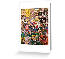 Character Collage Greeting Card