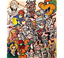 Super Smash Bros Melee Collage Photographic Print