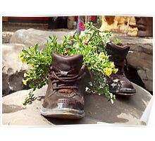 Gardening Shoes Poster
