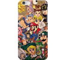 Character Collage iPhone Case/Skin