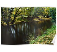 Ovens River at Bright Poster