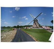 Fulton Windmill Poster