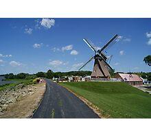 Fulton Windmill Photographic Print