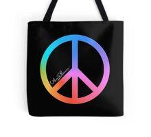 Urban Phenom™ - Rainbow Peace Tote Bag
