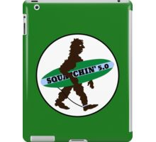 Squatchin Surfboard Bigfoot iPad Case/Skin