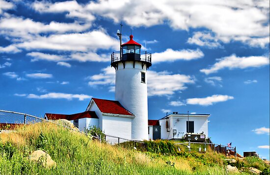 Eastern Point Lighthouse by Evelina Kremsdorf