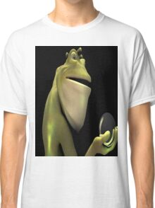 Frog Man With Egg Classic T-Shirt