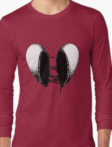 Split Heart Long Sleeve T-Shirt