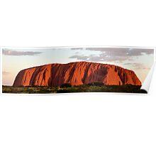 Sunset @ Uluru Poster