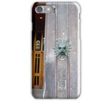 Durham Cathedral entrance iPhone Case/Skin