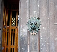 Durham Cathedral entrance by Jaime Pharr
