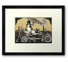 Steampunk Alice Framed Print