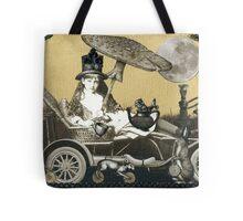 Steampunk Alice Tote Bag
