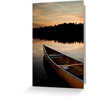 Northland Sunset Greeting Card