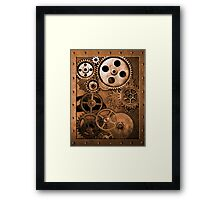 Steampunk Gears Framed Print