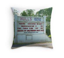 Rockbridge County, VA Drive In Throw Pillow