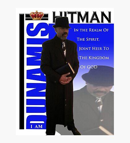 I Am Dunamis Hitman 1 Photographic Print