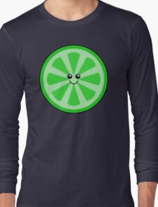 Cute Lime Long Sleeve T-Shirt