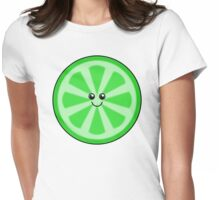 Cute Lime Womens Fitted T-Shirt