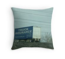 Instant Bill-Board Throw Pillow