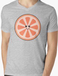 Cute Grapefruit Mens V-Neck T-Shirt