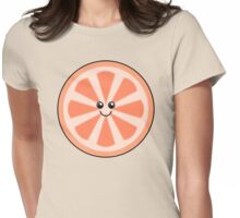 Cute Grapefruit Womens Fitted T-Shirt