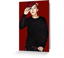 GD (G-Dragon) Greeting Card