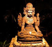 Brahma Statue, Murni's Warung, Ubud, Bali by JonathaninBali
