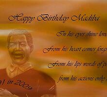 Happy Birthday Madiba by laureenr