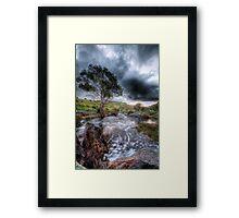 The rain keeps coming...................... Framed Print