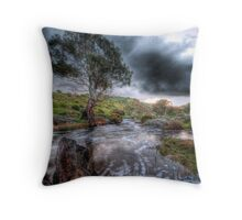 The rain keeps coming...................... Throw Pillow