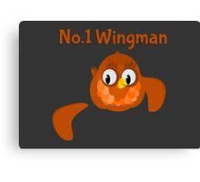 No.1 Wingman   Broken Wing Canvas Print
