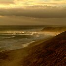 Sunburst 13th Beach,Bellarine Peninsula by Joe Mortelliti