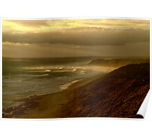 Sunburst 13th Beach,Bellarine Peninsula Poster