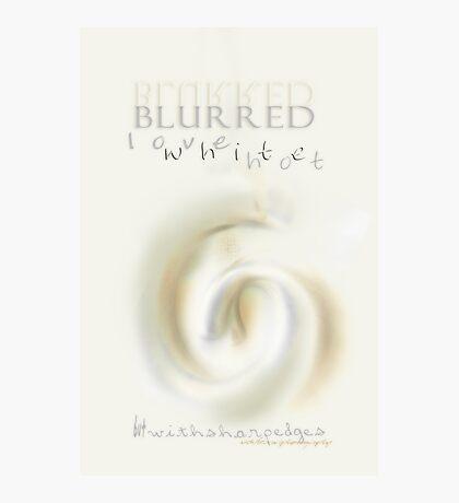 Blurred & Sharp © Vicki Ferrari Photographic Print
