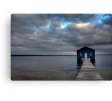 The perfect storm Canvas Print