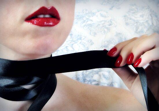 ~ satin ribbon ~ by Adriana Glackin