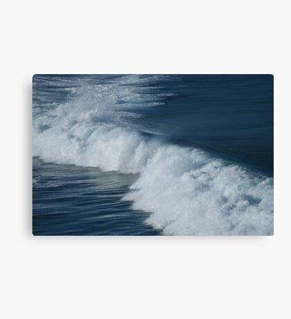 Driving Swell Canvas Print