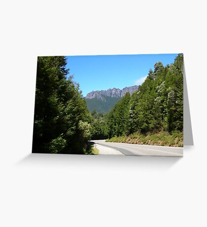 Windscreen View Greeting Card