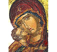 Madonna and Child / homage to mothers Photographic Print