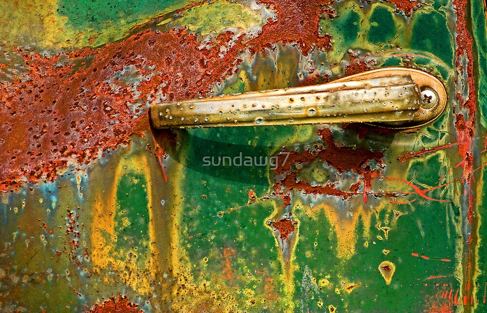 Rustbucket Abstract by sundawg7