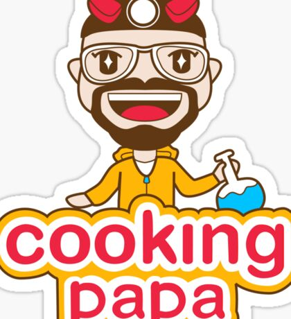 Cooking Papa Sticker