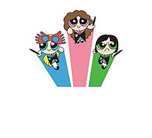 Magic Puff Girls Photographic Print
